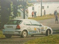 RAJD WRC 2005 ZDJĘCIE NUMER #015 HONDA CIVIC