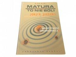 MATURA TO NIE BOLI. JĘZYK POLSKI - Alicha Wach '99
