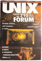 UNIX FORUM NR 2'95 KWIECIEŃ MAJ