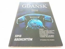 GDAŃSK 2010 SPIS ABONENTÓW