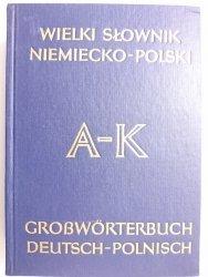 WIELKI SŁOWNIK NIEMIECKO-POLSKI TOM I A-K - Jan Piprek 1985