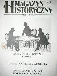 MAGAZYN HISTORYCZNY MÓWIĄ WIEKI NR 4'91
