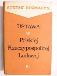 USTAWA W POLSKIEJ RZECZYPOSPOLITEJ LUDOWEJ - Stefan Rozmaryn 1964