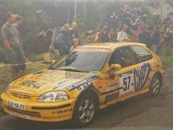 RAJD WRC 2005 ZDJĘCIE NUMER #001 HONDA CIVIC