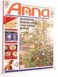 ANNA NR 12 GRUDZIEŃ 2000