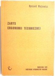 ZARYS ERGONOMII TECHNICZNEJ - Ryszard Wojtowicz 1978