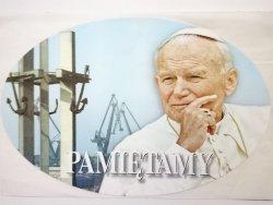 JAN PAWEŁ II PAMIĘTAMY - NAKLEJKA