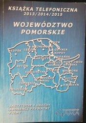KSIĄŻKA TELEFONICZNA 2013/2014/2015 WOJ. POMORSKIE