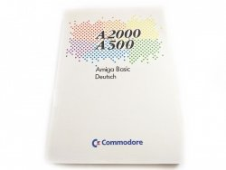 A2000 A500 AMIGA BASIC DEUTSCH. COMMODORE