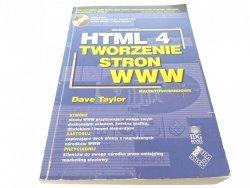 HTML 4 TWORZENIE STRON WWW - Dave Taylor (1998)