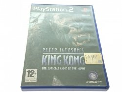 PETER JACKSON'S KING KONG. PLAYSTATION 2