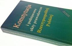 KONSTYTUCJA I PODSTAWOWE AKTY PRAWODAWCZE (1996)