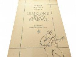 ULUBIONE UTWORY GITAROWE - Józef Powroźniak 1956