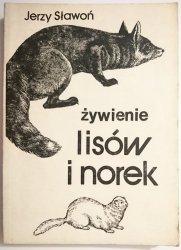 ŻYWIENIE LISÓW I NOREK - Jerzy Sławoń 1987