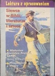 LEKTURA Z OPRACOWANIEM. SIEWCA W BIBLII, LITERATURE I SZTUCE