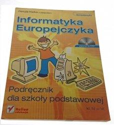 INFORMATYKA EUROPEJCZYKA. PODRĘCZNIK + PŁYTA CD