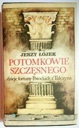 POTOMKOWIE SZCZĘSNEGO - Jerzy Łojek 1980