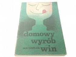 DOMOWY WYRÓB WIN - Jan Cieślak 1987