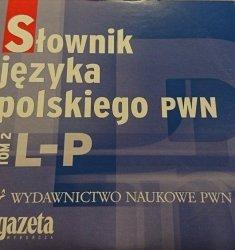SŁOWNIK JĘZYKA POLSKIEGO PWN TOM 2 L-P