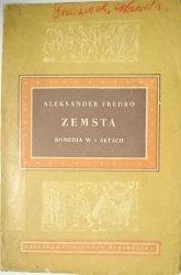 ZEMSTA - Aleksander Fredro 1954