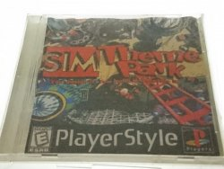 SIM THEME PARK. PLAYSTATION CD