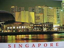 SINGAPORE. THE MARINA IS SINGAPORE'S NEWEST
