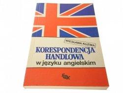 KORESPONDENCJA HANDLOWA W JĘZYKU ANGIELSKIM 1991