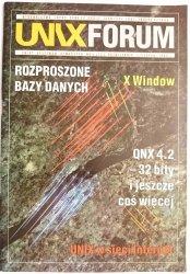 UNIX FORUM NR 5 (13) PAŹDZIERNIK-LISTOPAD 1994