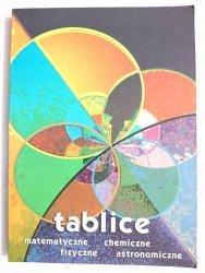 TABLICE MATEMATYCZNE CHEMICZNE FIZYCZNE ASTRONOMICZNE 1998