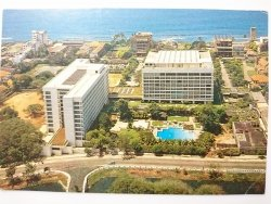 AERIAL VIEW OF THE LANKA OBEROI. THE GARDEN HOTEL OF COLOMBO CITY