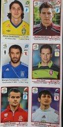 EURO 2012 NAKLEJKI NUMERY: 219 451 142 94 128 73