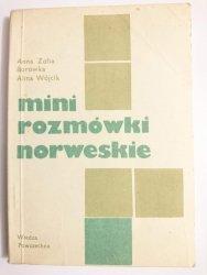 MINI ROZMÓWKI NORWESKIE - Anna Zofia 1987