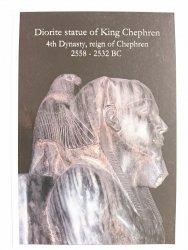 DIORITE STATUE OF KING CHEPHREN