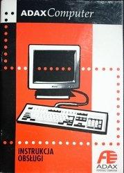ADAX COMPUTER. INSTRUKCJA OBSŁUGI 1996