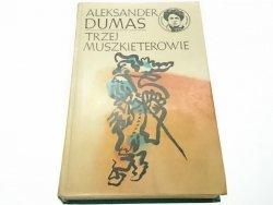 TRZEJ MUSZKIETEROWIE TOM 1 - Aleksander Dumas 1975