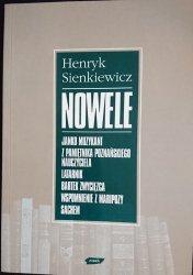 NOWELE - Henryk Sienkiewicz 1996