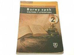 BARWY EPOK. PODRĘCZNIK KLASA 2 - Bobiński 2003