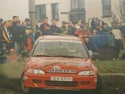 RAJD WRC 2005 ZDJĘCIE NUMER #291 HONDA CIVIC
