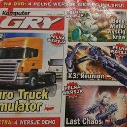 KOMPUTER ŚWIAT GRY. LIPIEC NR 4/2009 EURO TRUCK