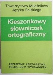 KIESZONKOWY SŁOWNICZEK ORTOGRAFICZNY 1989