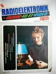 RADIOELEKTRONIK AUDIO HI-FI VIDEO NR 6'92