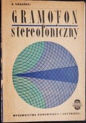 GRAMOFON STEREOFONICZNY - B. Urbański 1966