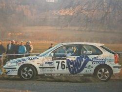 RAJD WRC 2005 ZDJĘCIE NUMER #285 HONDA CIVIC