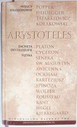 ARYSTOTELES. ZACHĘTA DO FILOZOFII. FIZYKA - Praca Zbiorowa 2010