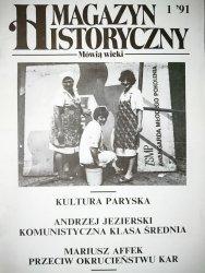 MAGAZYN HISTORYCZNY MÓWIĄ WIEKI NR 1'91