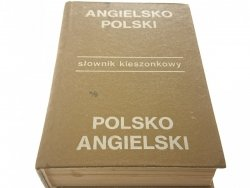 SŁOWNIK KIESZONKOWY ANG-POL; POL-ANG - Jaślan 1985