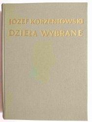 DZIEŁA WYBRANE TOM V KREWNI TOM II - Józef Korzeniowski 1954