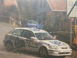 RAJD WRC 2005 ZDJĘCIE NUMER #287 HONDA CIVIC