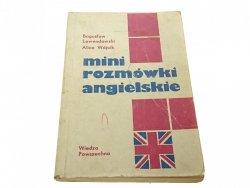 MINI ROZMÓWKI ANGIELSKIE - Lawendowski (1980)