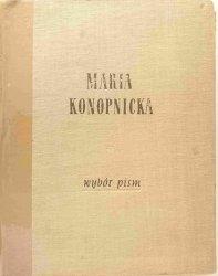 WYBÓR PISM - Maria Konopnicka 1956